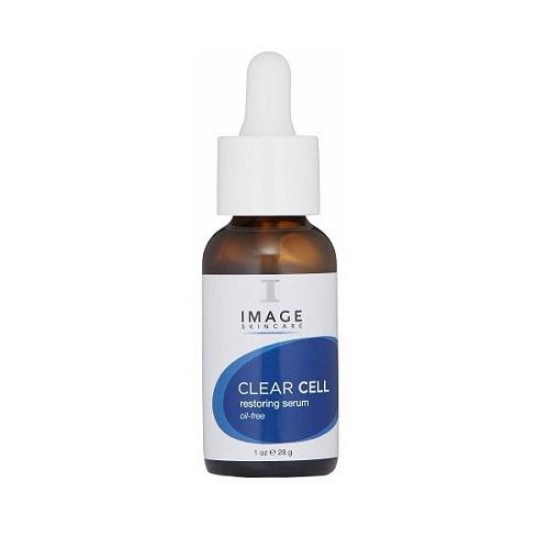 Serum kiểm soát nhờn và kháng khuẩn Image Clear Cell Restoring Serum Oil Free