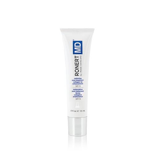 Gel trẻ hóa và chăm sóc môi Image MD Restoring Post Treatment Lip Enhancement SPF 15
