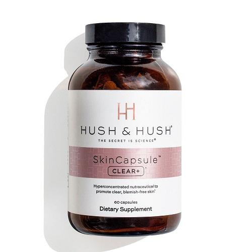 Viên uống trị mụn Hush & Hush SkinCapsule Clear+