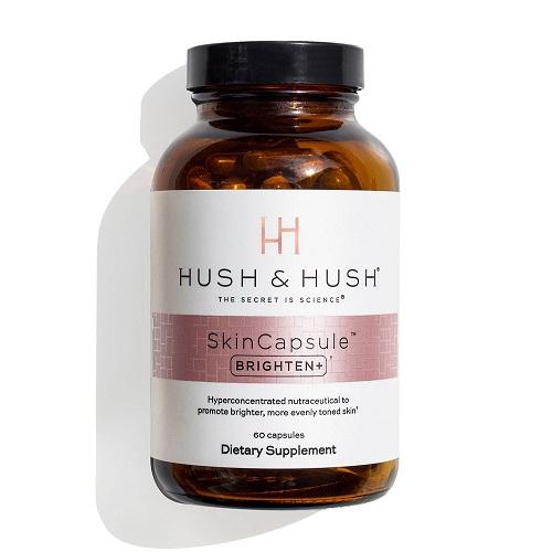Viên uống trắng, mờ nám Image Hush & Hush SkinCapsule Brighten+