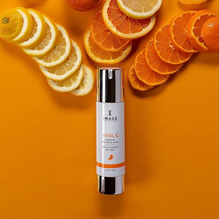 Hàm lượng vitamin C trong Serum dưỡng ẩm chống oxi hóa Vital C