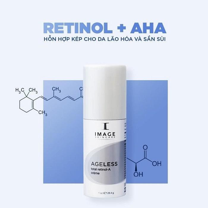 Hàm lượng Retinol cao giúp đẩy nhanh quá trình tái tạo tế bào
