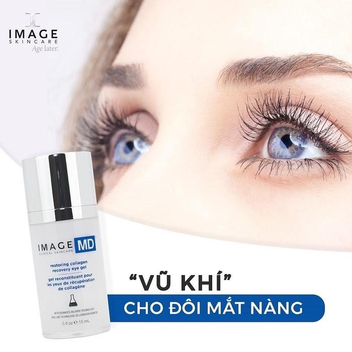 Kem mắt Image MD Restoring Collagen Recovery Eye Gel
