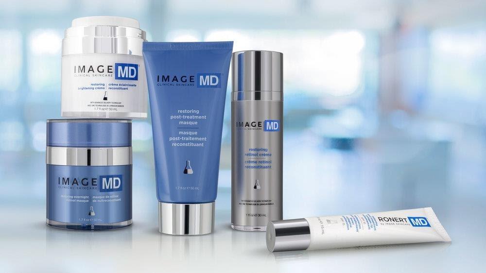 rọn bộ sản phẩm phục hồi da của Image MD
